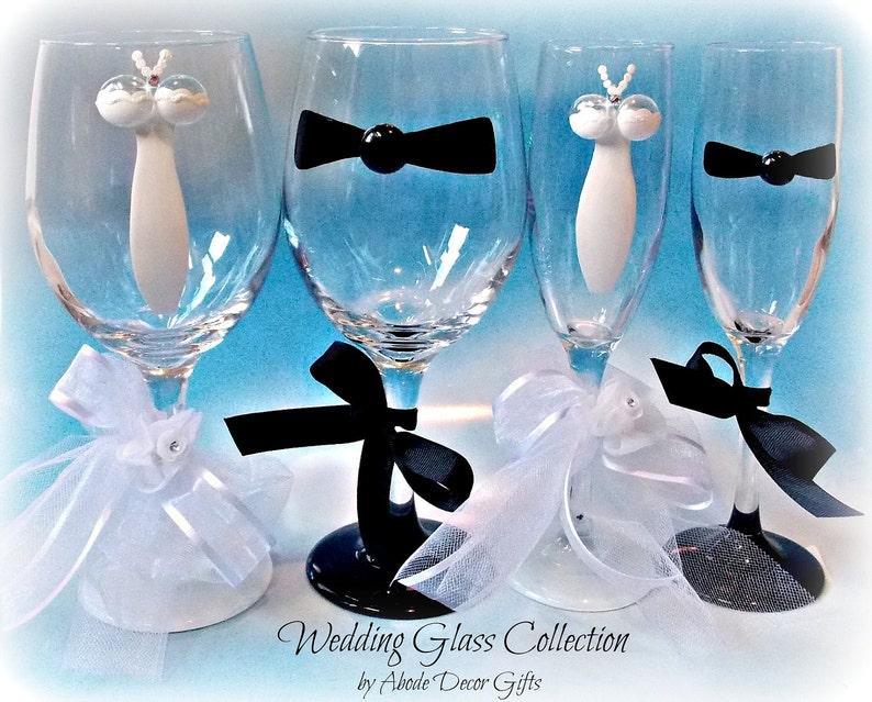 Champagne Flutes Wedding Toasting Flutes Bride Glass Bride Etsy