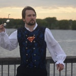 Men's Superman Inspired Steampunk Vest, Dustpunk, Pirate, Western, Gaslight, Dickins, Classy, Renaissance Festival, Ren Fair