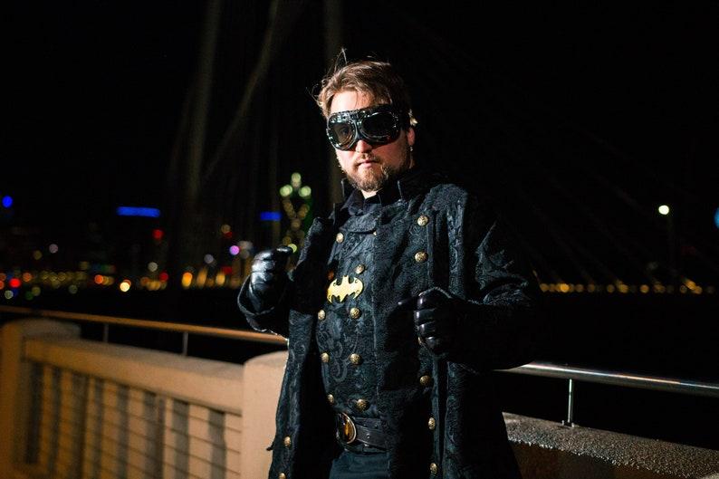 Herren Batman Inspiriert Steampunk Kostüm Dustpunk Diesel Etsy