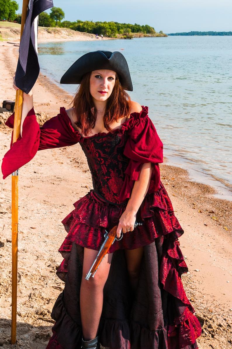 Déguisement Femme DAME de SALOON Bleu M//L 40//42 Western Cabaret NEUF pas cher