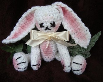INSTANT DOWNLOAD Crochet Pattern PDF 24 - Bacarack Bunny- 8 inches from head to foot. -Pattern
