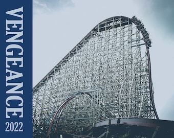2022 Calendar Featuring Images of Steel Vengeance at Cedar Point