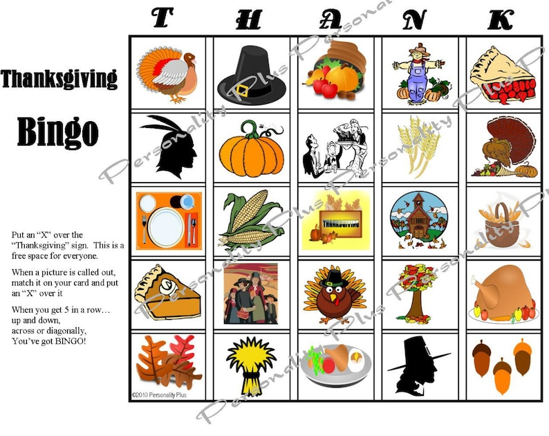 picture relating to Free Printable Thanksgiving Bingo Cards called Printable Thanksgiving Bingo and Indoor Scavenger Hunt game titles. Immediate Obtain. 10 playing cards. Very good entertaining for all ages
