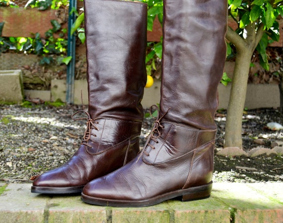 Made in Italy - Joan & David - Pull on boots (Sz 7