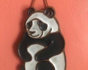 Vintage Victoria Littlejohn Ceramic Panda