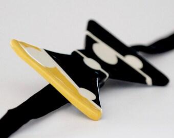 Fathers Day, Mens  Bow Tie Accessories - Fashion Statement Handmade Ceramic Bow Tie, Unisex tie, Necktie, Groomsmen
