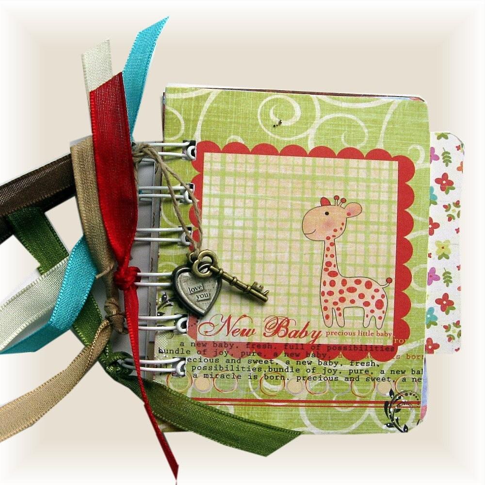 Baby Album Baby Shower Gift Baby Scrapbook Brag Book Free