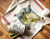 San Francisco Map Kitchen/Tea Towel