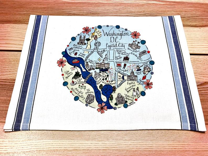 Washington D.C. Map Kitchen/Tea Towel on city map dc, map with metro stops dc, civil war map washington dc, wmata map washington dc, county map washington dc, usa map washington dc, google maps dc, zip code map nw dc, simple map washington dc, subway map for washington dc, map showing washington, printable map washington dc, map ofwashington dc, star map washington dc, street map with metro stations washington dc, us map showing dc, neighborhood and ward map dc, print map washington dc, interactive metro map washington dc, united states map with dc,
