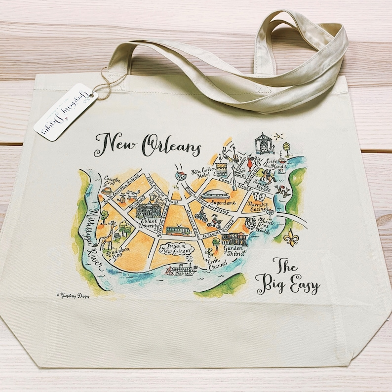 New Orleans City Tote image 0