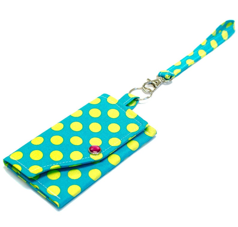 Key Ring Clutch Wallet with Wristlet or Lanyard Options  image 0