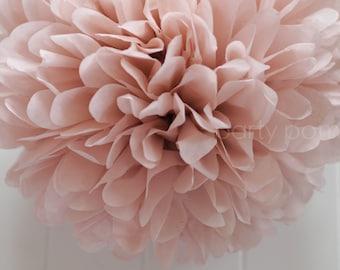 Dusty Pink tissue paper pom pom