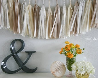 NEUTRAL SPARKLE // wedding and party decoration