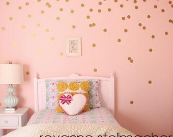 "2"" Confetti Polka Dot Wall Decals"