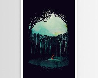 R—bert Farkas Deep in the Forest POSTER
