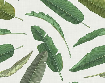 Banana Leaf Removable Wallpaper Decal 5 Foot