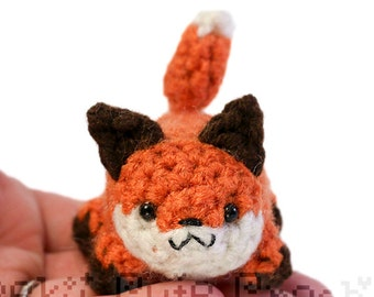 Fox Yami Amigurumi Crochet Stuffed Plush Desk Toy