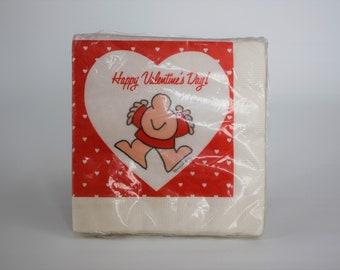 Boo! Vintage Ziggy Cartoon Comic Character Jack O Lantern Pumpkin Small Halloween Gift Bag 1980\u2019s Kid