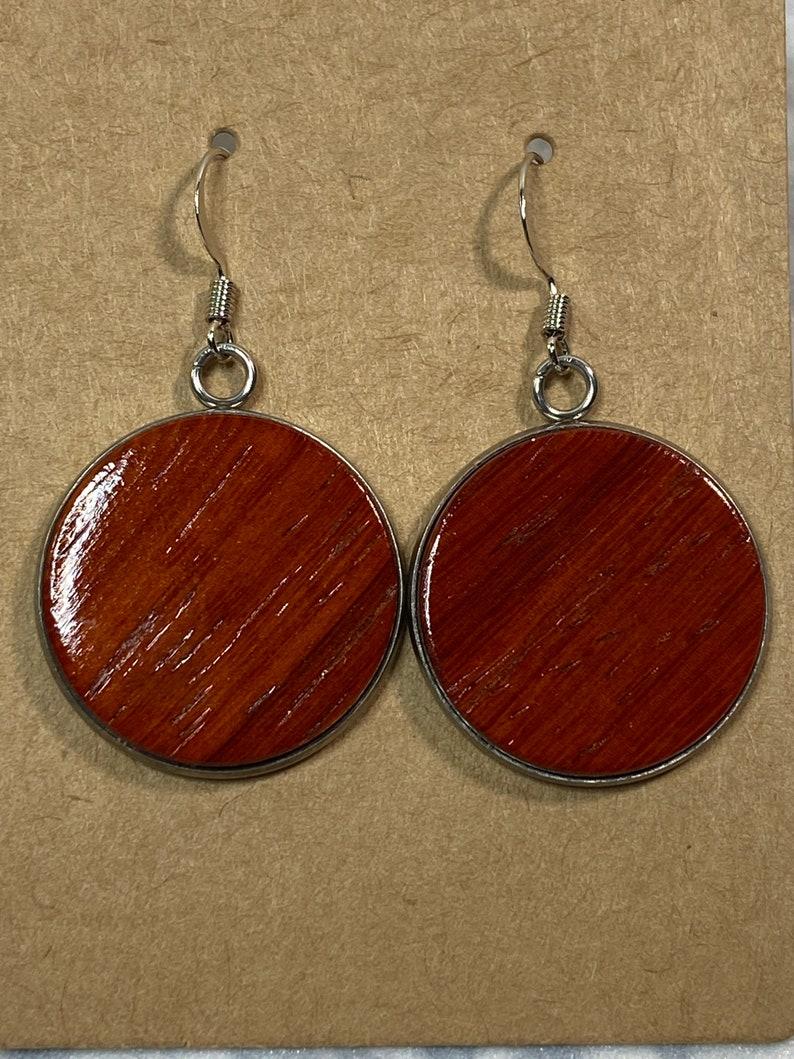 Padauk Earring and Necklace Set