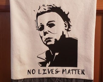 Michael Myers Halloween Knife Charm Necklace Etsy