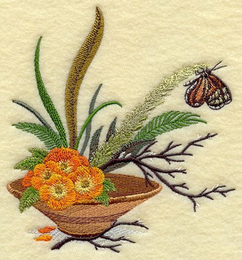 IKEBANA BUTTERFLY on Ladies'  Sweat by Rosemary image 0