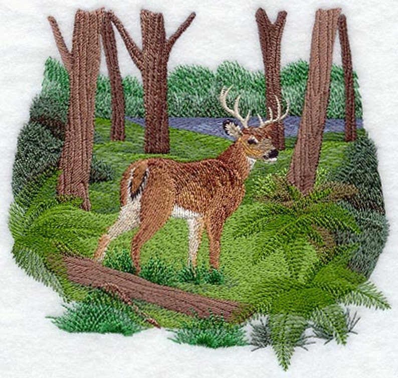SUMMER DEER EMBROIDERY on  Sweat by Rosemary image 0