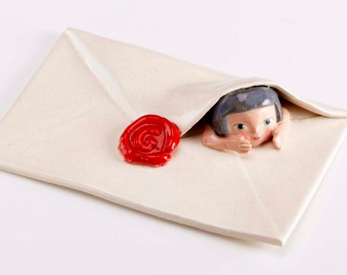 a letter from God-pottery