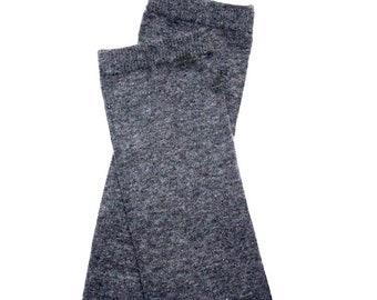 Gray Baby Leg Warmers 2 Sizes