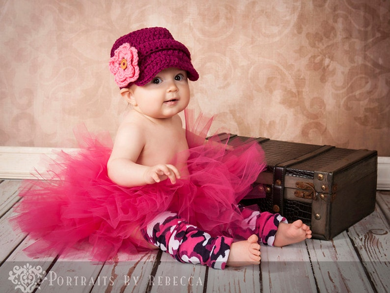 Pink and Black Camouflage Baby leg Warmers Sale image 0