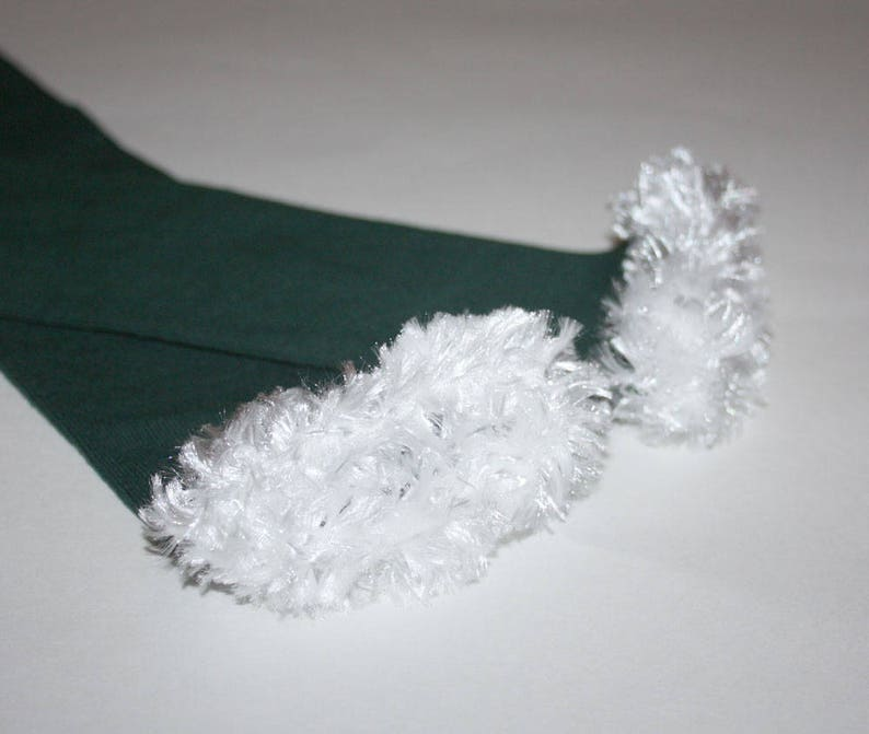 Green and White Philadelphia Eagles Baby Toddler Leg Warmers image 0