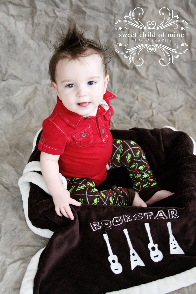 Brown Skulls Pirate Peace Baby Toddler Leg Warmers image 0