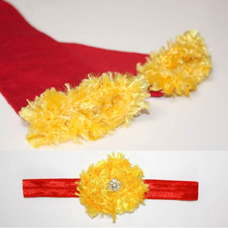 Red and Gold Kansas City Chiefs 49ers Cyclones Baby Leg image 0
