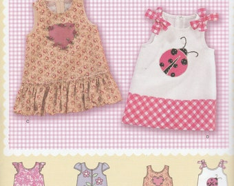 A21- Sewing Pattern Lot Simplicity Daisy Kingdom Girls