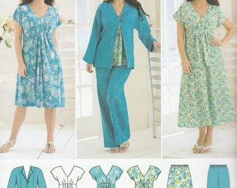 A22-Sewing Pattern Lot Simplicity McCall's Ladies Women Clothing Patterns