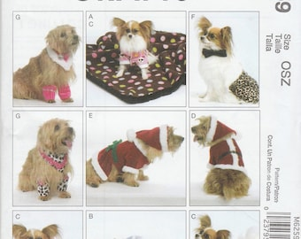 024-Sewing Pattern Lot McCall's Simplicity Dogs Poodle Skirt Clothing Patterns