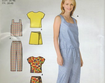 A39-Sewing Pattern Lot - Simplicity McCall's Ladies Clothing Patterns
