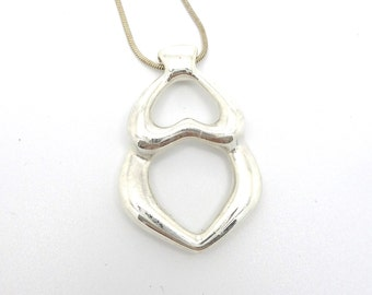 Sterling Silver Mother Goddess Gaia Pendant