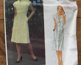 Vintage Vogue pattern 2684 Misses DRESS sz 14