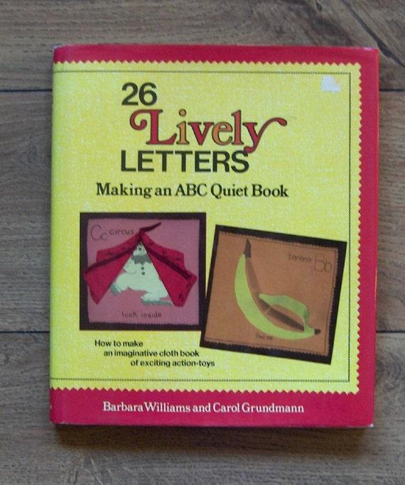 Vintage 70er Jahre Schnittmuster Buch 26 lebhaften Buchstaben | Etsy