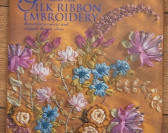 1996 silk ribbon embroidery pattern book Reader's Digest