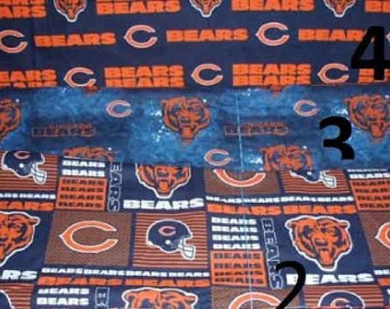 half off 4bb94 d940e NFL Chicago Bears Sports Fabric 100% Cotton 58
