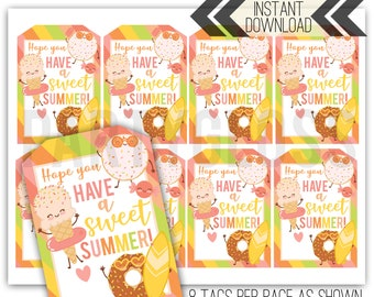 image about Have a Sweet Summer Printable known as Incorporate a lovable summertime Etsy
