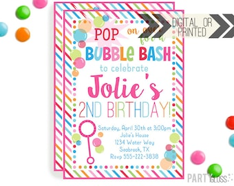 Boy bubble party invitation digital or printed bubbles bubble party invitation digital or printed bubbles invitation bubble party bubbles birthday party pink bubble invitations filmwisefo