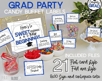 Magnificent Graduation Candy Bar Etsy Interior Design Ideas Gentotryabchikinfo