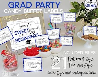 Peachy Graduation Candy Bar Etsy Interior Design Ideas Inesswwsoteloinfo