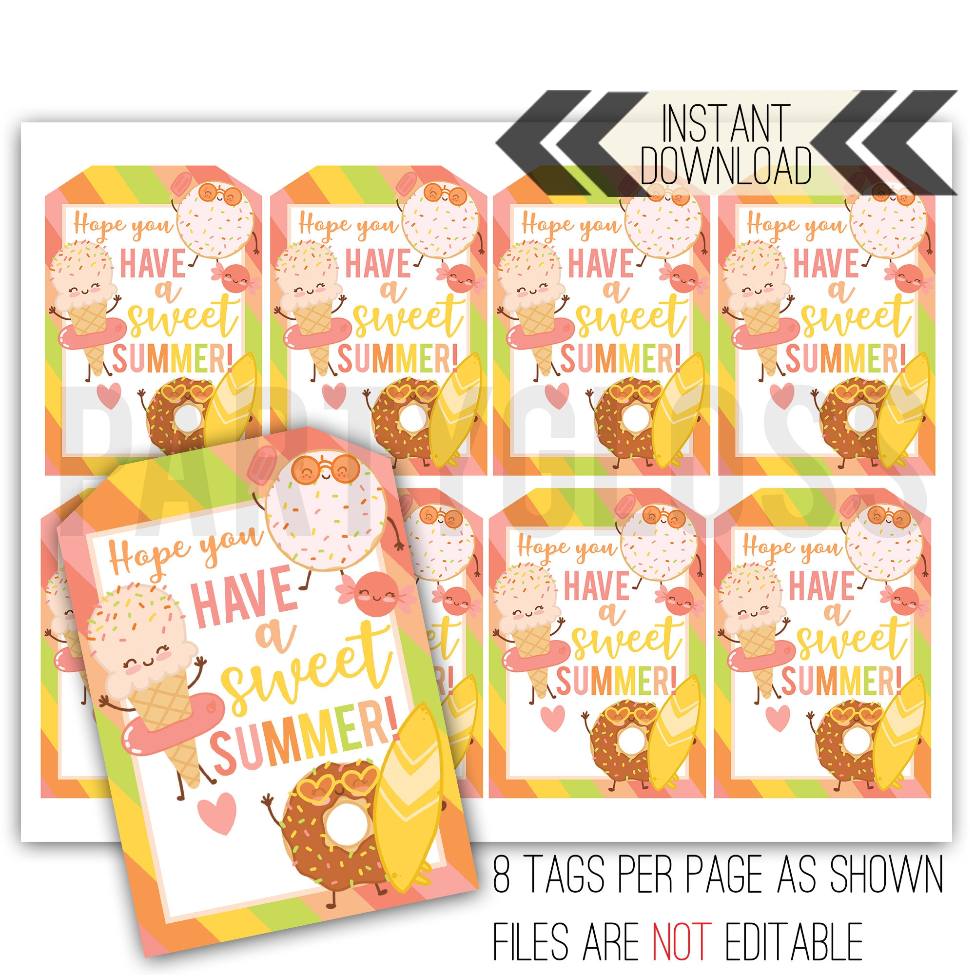 photograph about Have a Sweet Summer Printable known as Adorable Summertime Printable Tag Instructor Appreciation Finish of Calendar year Instructor Tag Instructor Summertime Tag Lovable Summer season Tag Contain a Cute Summertime