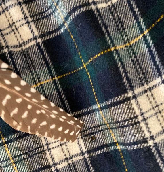 Pendleton Plaid Wool Pants for Men - Blue Green P… - image 7