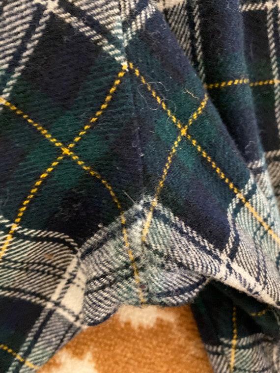 Pendleton Plaid Wool Pants for Men - Blue Green P… - image 8