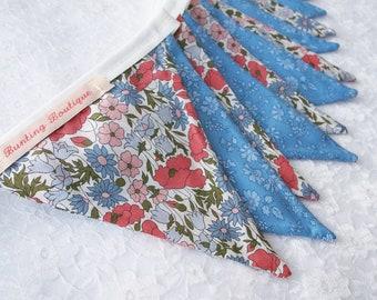 Liberty Floral Tana Lawn Bunting - 3m Long
