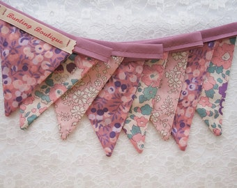 Small  Liberty Floral Party Bunting - 2m Long